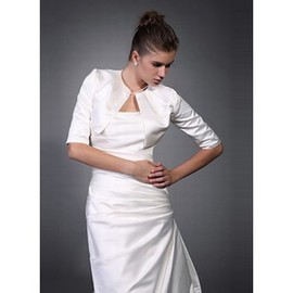 Taffeta White Vintage | Timeless Pleats Bolero