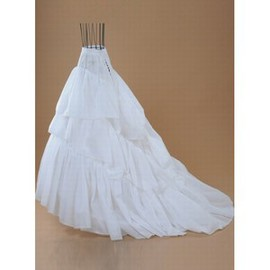 Tiered Floor-Length A Line Eye Catching | Princess Crinolines