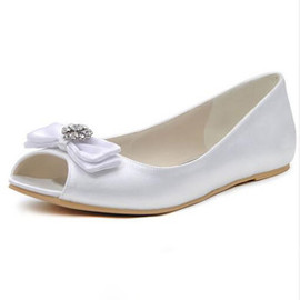 Luxury Flats Spring Bridal Shoe