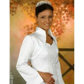 Taffeta White Vintage | Timeless Simple Bolero
