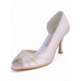 Fine With High-heeled Bridal Shoe