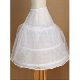 Dramatic Elegant Tea Length Princess Crinolines