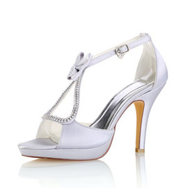Platform Actual Heel Height 3.94 Inch Elegant Heels Women Shoe