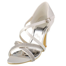 Heels Eternal Summer Actual Heel Height 3.54 Inch Bridal Shoe