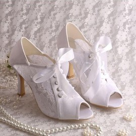 Modern Heels Autumn Actual Heel Height 3.15 Inch Wedding Shoe