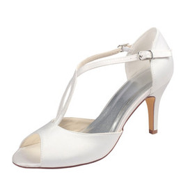 Spring Heels Elegant Actual Heel Height 3.15 Inch Women Shoe