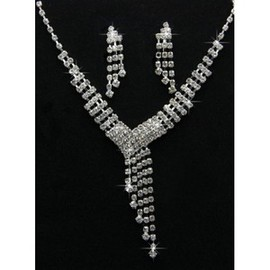 Discount Modern Crystal Bridal Jewelry