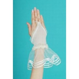Tulle Simple White Vintage | Timeless Bridal Gloves