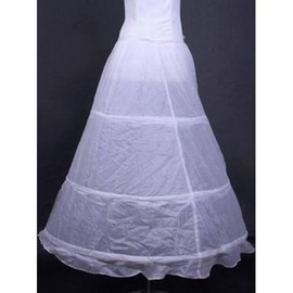 Simple Discount Floor-Length Princess Crinolines