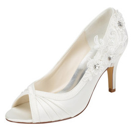 Trend Autumn Actual Heel Height 3.15 Inch Heels Bridal Shoe