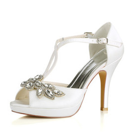 Heels Platform Formal Platform Height 0.59 Inch Wedding Shoe