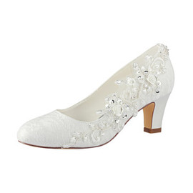 Autumn Trend Actual Heel Height 2.56 Inch Wedding Shoe