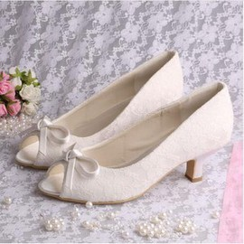 Actual Heel Height 1.97 Inch Spring Summer Classic Wedding Shoe