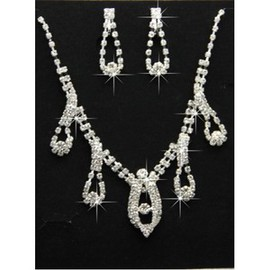 Cheap Elegant Crystal Bridal Jewelry