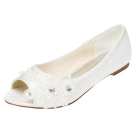 Eternal Spring Summer Flats Wedding Shoe