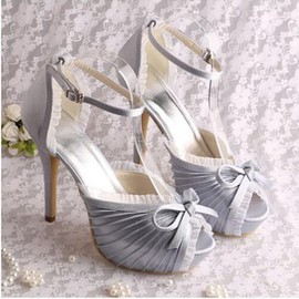 Heels Actual Heel Height 5.12 Inch Platform Charming Women Shoe