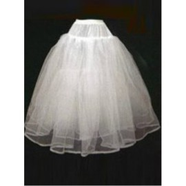Simple Dramatic Short A Line Crinolines