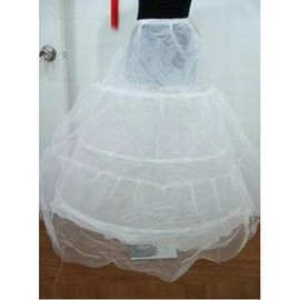 Simple Eye Catching Floor-Length Princess Crinolines