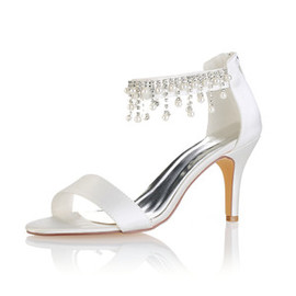 Actual Heel Height 3.15 Inch Heels Winter Modern Bridal Shoe