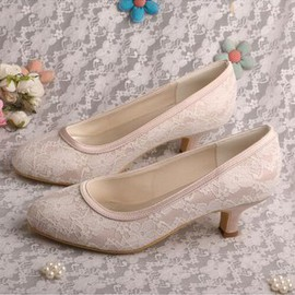 Formal Actual Heel Height 1.97 Inch Autumn Winter Wedding Shoe