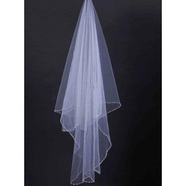 Modest Short Wedding Veil