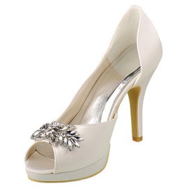 Eternal Heels Actual Heel Height 3.94 Inch Platform Wedding Shoe