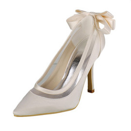 Heels Modern Autumn Winter Actual Heel Height 3.54 Inch Bridal Shoe