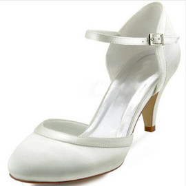 Winter Actual Heel Height 2.76 Inch Luxury Wedding Shoe