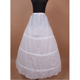 Simple Dramatic Ankle -length Princess Crinolines