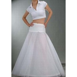 Simple Discount Floor-Length A Line Crinolines
