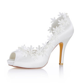 Heels Platform Height 0.59 Inch Platform Modern Wedding Shoe