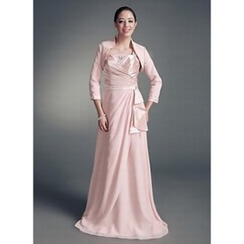 Taffeta Beaded Pink Elegant | Modest Simple Bolero