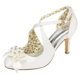 Heels Charming Spring Actual Heel Height 3.15 Inch Wedding Shoe