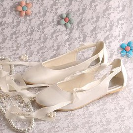 Summer Flats Charming Wedding Shoe