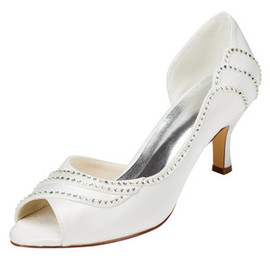 Summer Actual Heel Height 2.56 Inch Charming Wedding Shoe