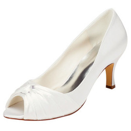 Drama Actual Heel Height 2.56 Inch Autumn Bridal Shoe