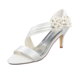 Heels Drama Winter Actual Heel Height 3.15 Inch Bridal Shoe