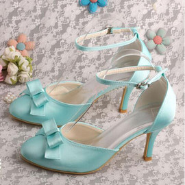 Heels Spring Summer Actual Heel Height 3.15 Inch Luxury Women Shoe
