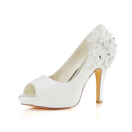 Platform Platform Height 0.59 Inch Heels Trend Wedding Shoe