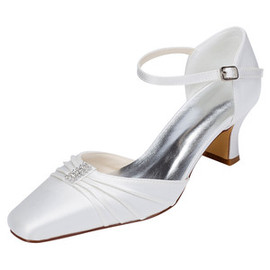 Trend Actual Heel Height 2.17 Inch Autumn Winter Wedding Shoe