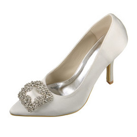Heels Winter Romantic Actual Heel Height 3.54 Inch Bridal Shoe