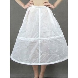 Simple Discount Tea-Length Princess Crinolines