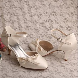 Actual Heel Height 2.36 Inch Summer Romantic Wedding Shoe