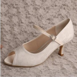 Romantic Actual Heel Height 2.56 Inch Spring Summer Women Shoe