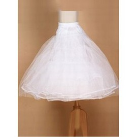 Simple Dramatic Short Prom Dress Petticoats