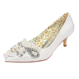 Drama Actual Heel Height 1.97 Inch Spring Bridal Shoe