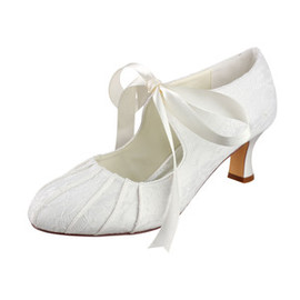 Eternal Spring Summer Actual Heel Height 2.36 Inch Bridal Shoe