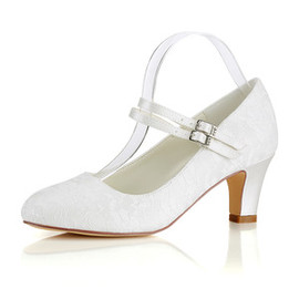 Formal Actual Heel Height 2.56 Inch Winter Bridal Shoe