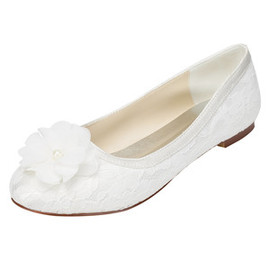 Romantic Flats Spring Wedding Shoe