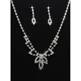 Discount Vintage With Crystal Bridal Jewelry